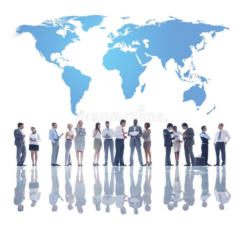 El negocio Team Development global foto de archivo