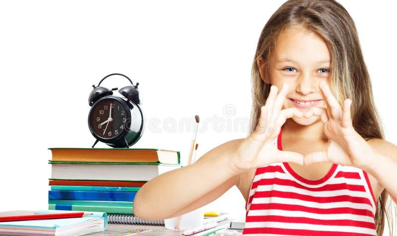 El niño ama la escuela fotos de archivo libres de regalías