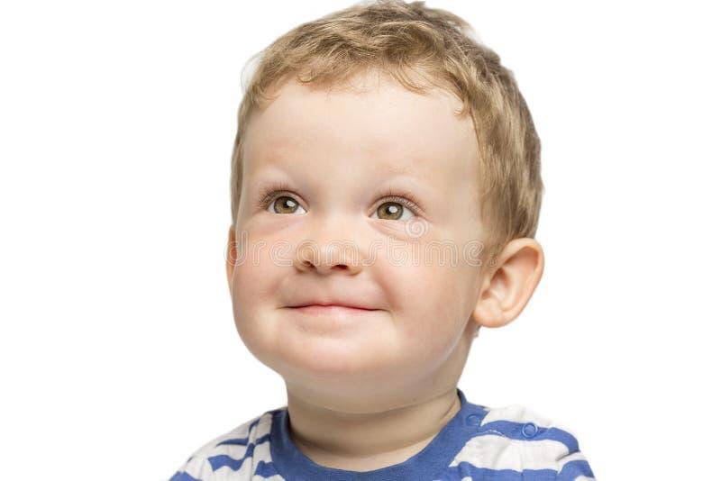 El niño pequeño ríe el primer imágenes de archivo libres de regalías