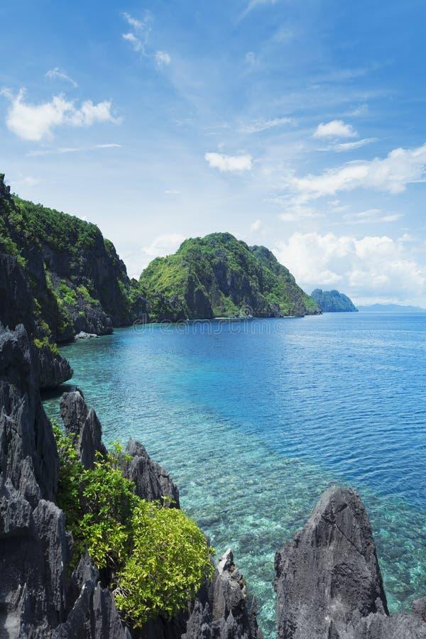 El Nido,巴拉望岛-菲律宾 库存图片