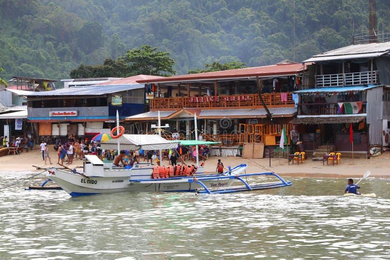 El Nido, Filipiny zdjęcia stock