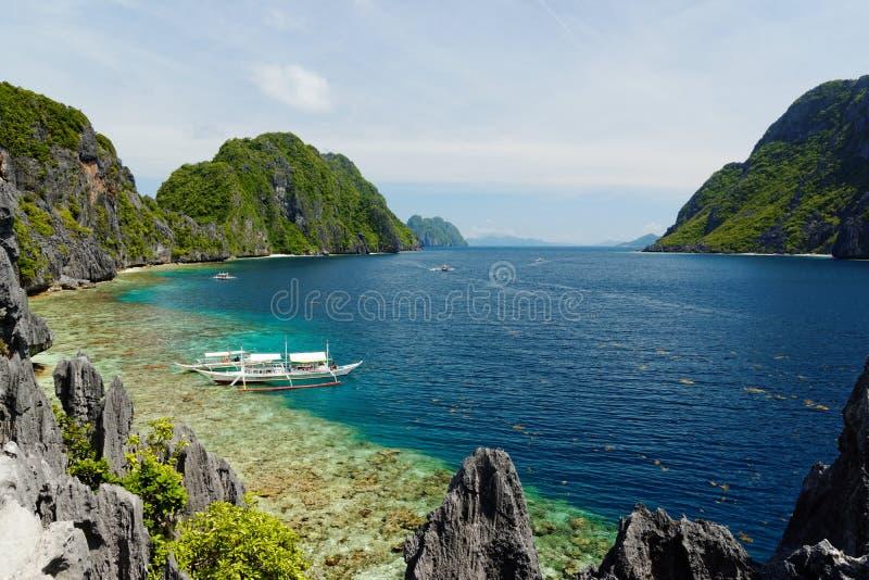 El Nido, Filipiny obraz royalty free