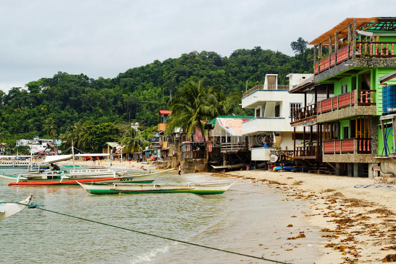 El Nido Town, Philippines royalty free stock photography