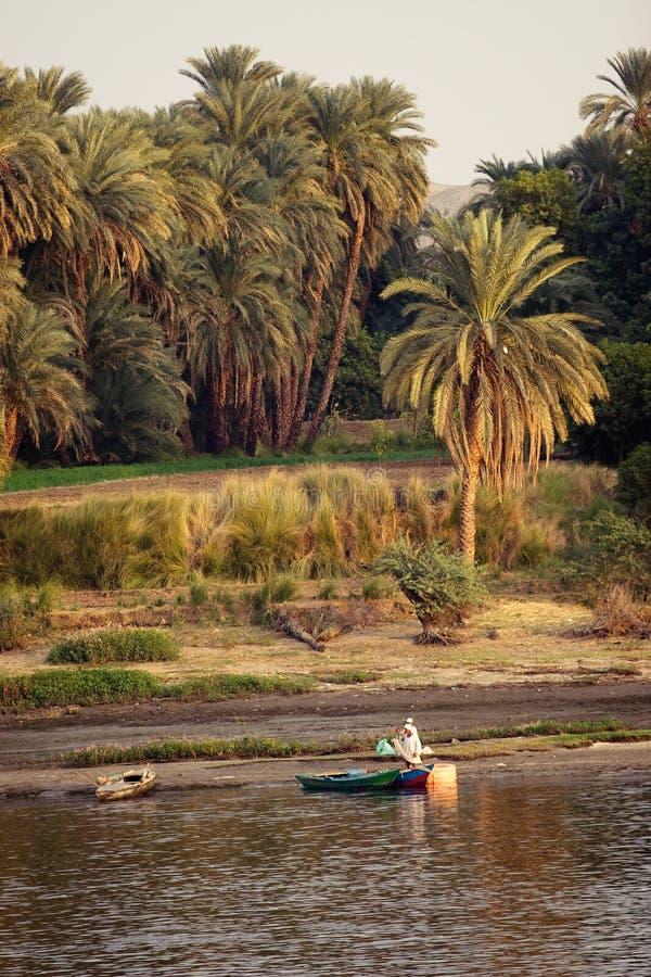 El Nilo imagenes de archivo