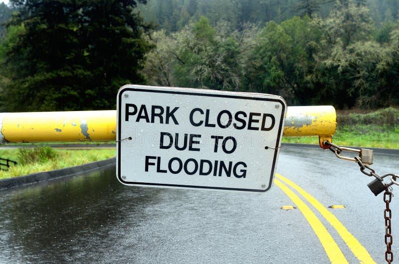 EL Nino Flooding imagem de stock royalty free