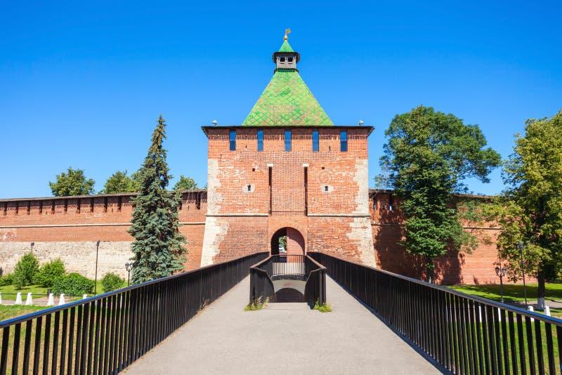 El Nizhny Novgorod el Kremlin fotografía de archivo
