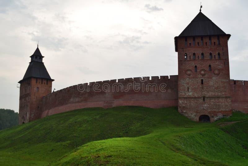 El Novgorod el Kremlin en Veliky Novgorod Rusia imagenes de archivo
