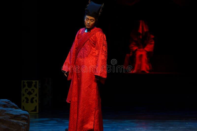 El novio Wang Yangming-The primero actúa: el drama histórico noche-grande de la nueva boda, ` Yangming ` de tres noches imágenes de archivo libres de regalías