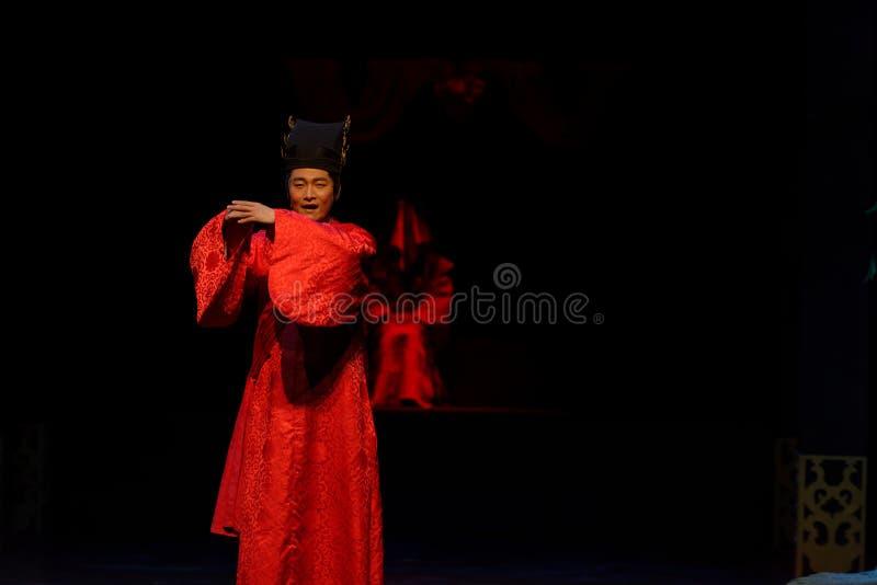 El novio Wang Yangming-The primero actúa: el drama histórico noche-grande de la nueva boda, ` Yangming ` de tres noches imagenes de archivo