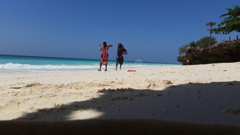 El Océano Índico de Zanzíbar Tanzania fotografía de archivo libre de regalías