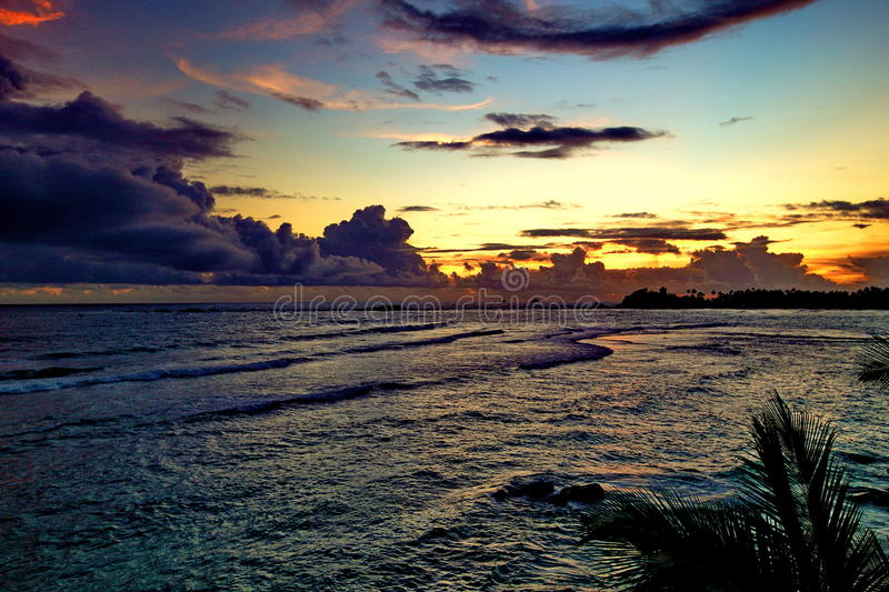 El océano imágenes de archivo libres de regalías