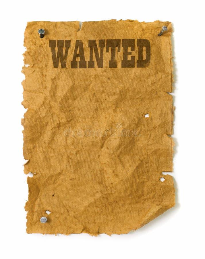 El oeste salvaje quiso el cartel fotos de archivo