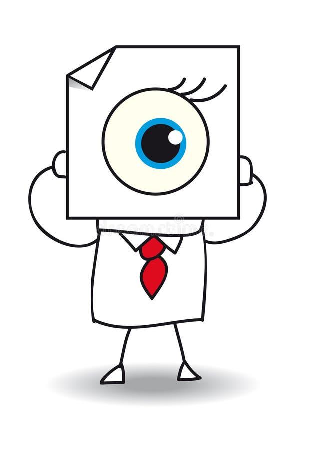 El ojo ilustración del vector