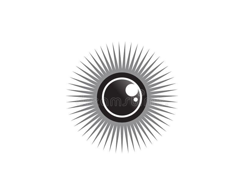 El ojo de Horus y de x28; Ojo del Ra, Wadjet& x29; creído por los egipcios antiguos para tener poderes curativos y protectores libre illustration