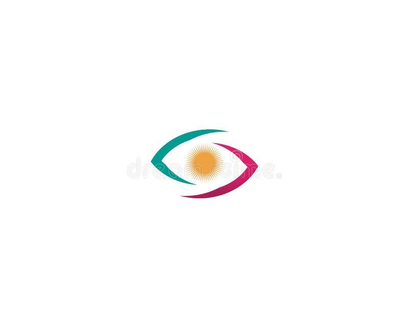 El ojo de Horus y de x28; Ojo del Ra, Wadjet& x29; cre?do por los egipcios antiguos para tener poderes curativos y protectores ilustración del vector