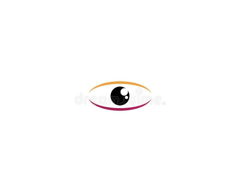 El ojo de Horus y de x28; Ojo del Ra, Wadjet& x29; cre?do por los egipcios antiguos para tener poderes curativos y protectores stock de ilustración