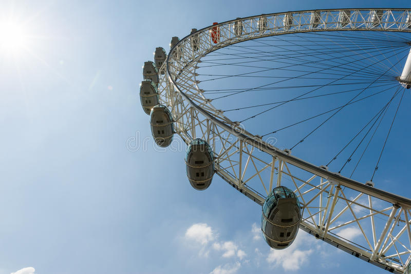 Download El ojo de Londres foto de archivo editorial. Imagen de contra - 41909078
