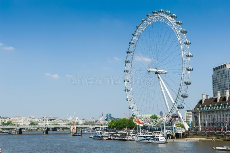 Download El Ojo De Londres Por El Río Támesis Imagen de archivo editorial - Imagen de europa, puente: 41909129