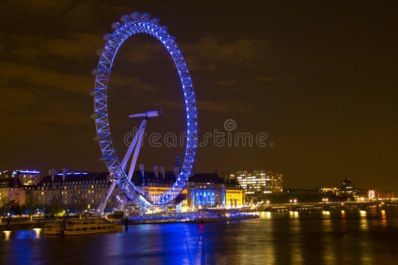 El ojo y el río Thames de Londres