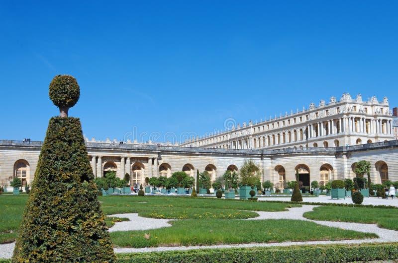 El Orangerie en el palacio de Versalles foto de archivo libre de regalías
