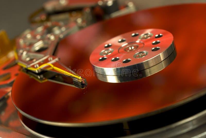 El ordenador Duro-Conduce. imagen de archivo