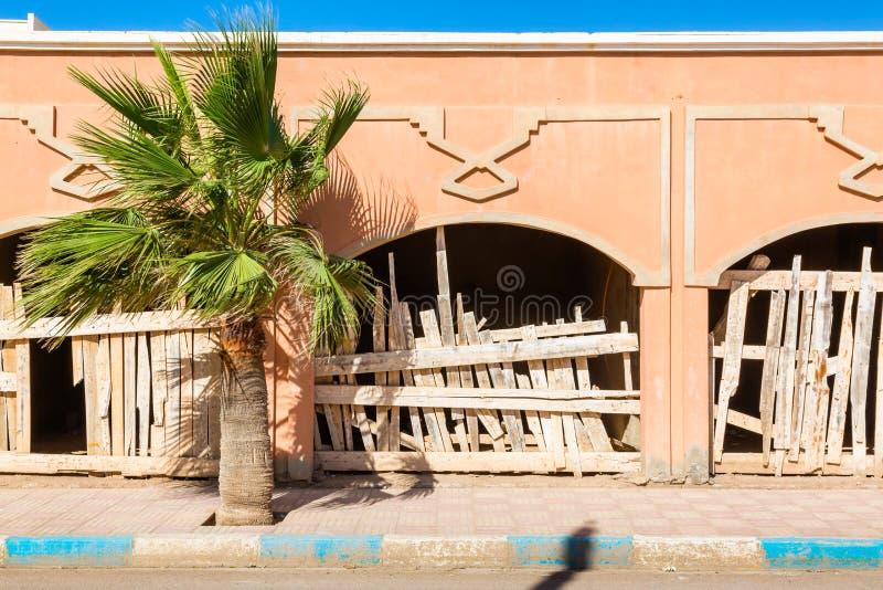 EL Ouatia en la costa al sudoeste de Marruecos fotos de archivo