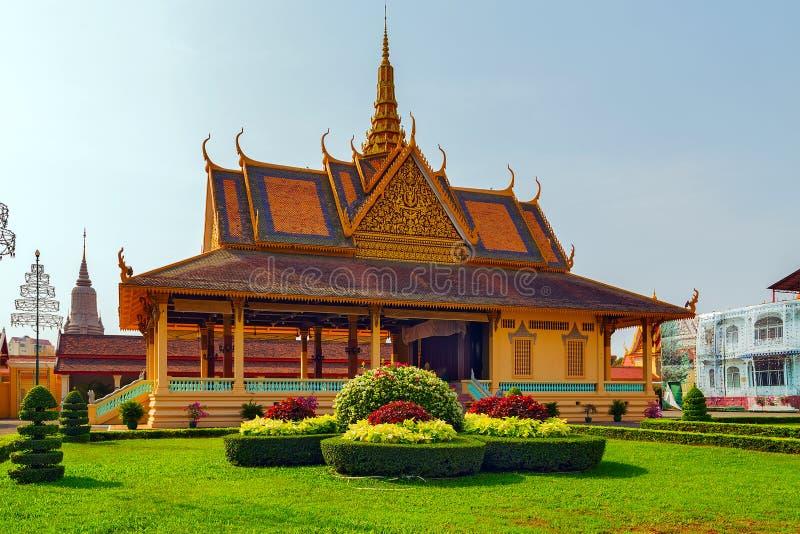 El pabellón del claro de luna, Royal Palace Pnom Penh, Camboya fotografía de archivo libre de regalías