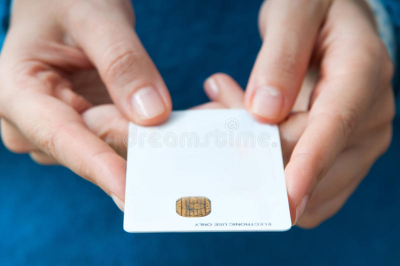 El pagar del comprador imagen de archivo