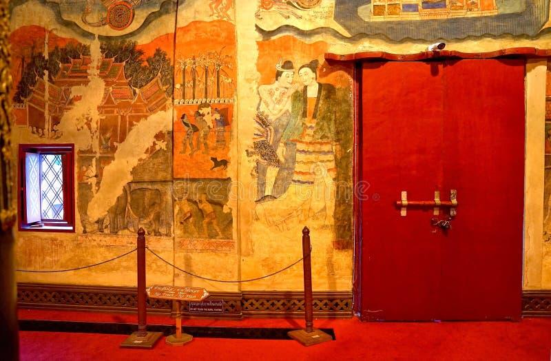El painti mural antiguo famoso imagen de archivo libre de regalías