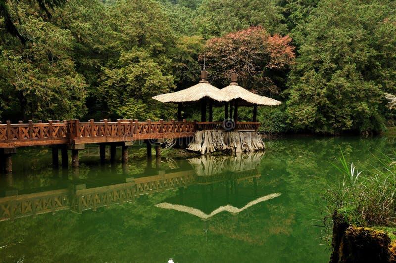 El paisaje de Taiwán fotografía de archivo libre de regalías