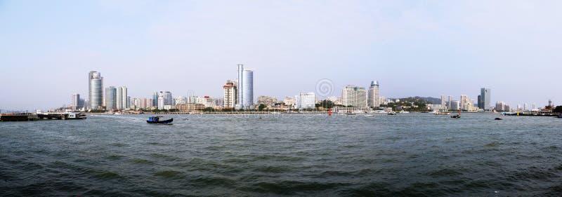 El paisaje de Xiamen fotos de archivo