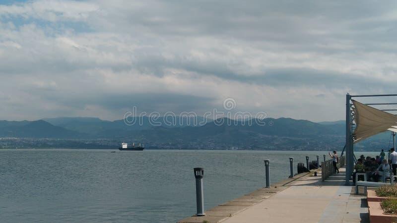 El paisaje del mar del parque de Seka fotos de archivo libres de regalías