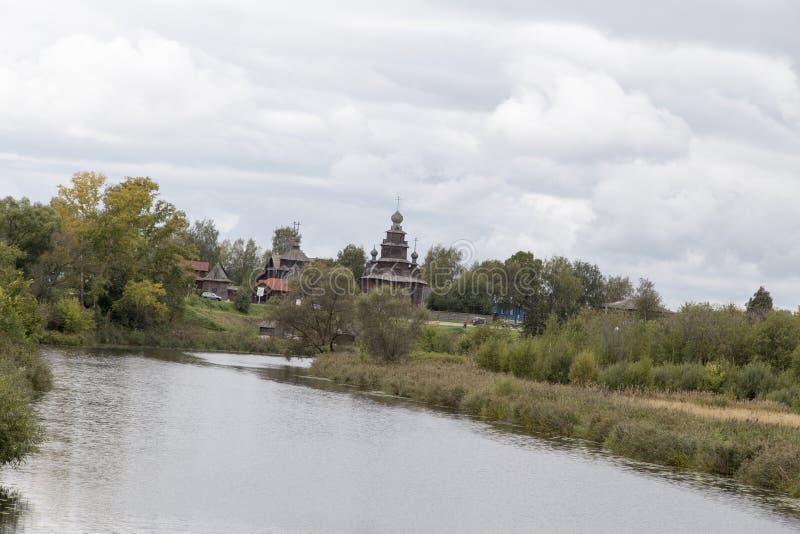 El paisaje en suzdal, Federación Rusa imagenes de archivo