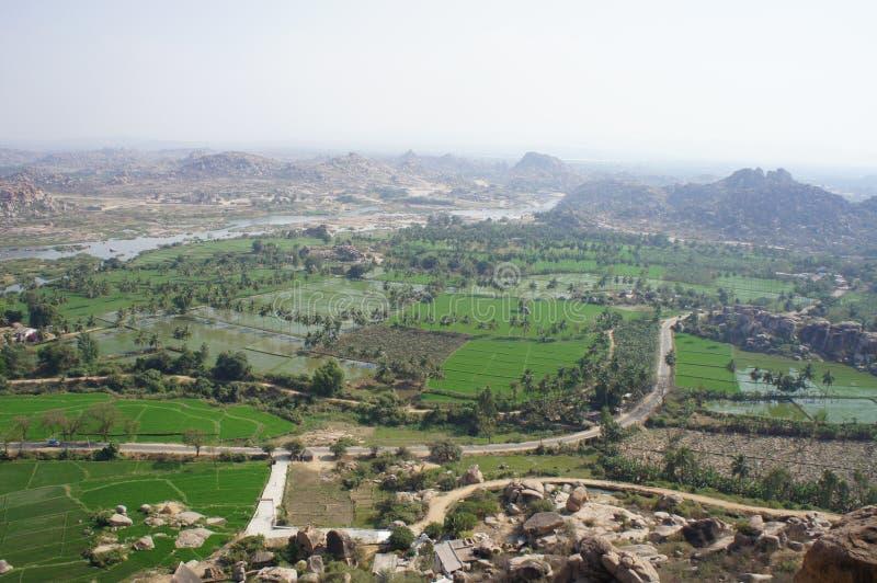 El paisaje indio imagen de archivo