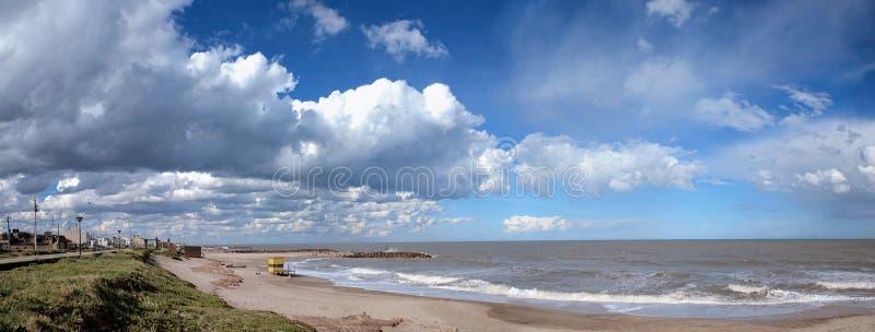 El paisaje marítimo vara en marzo a del Plata imagen de archivo
