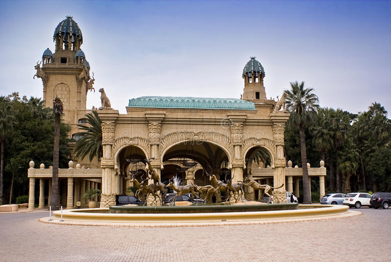 El palacio de la ciudad perdida fotos de archivo libres de regalías