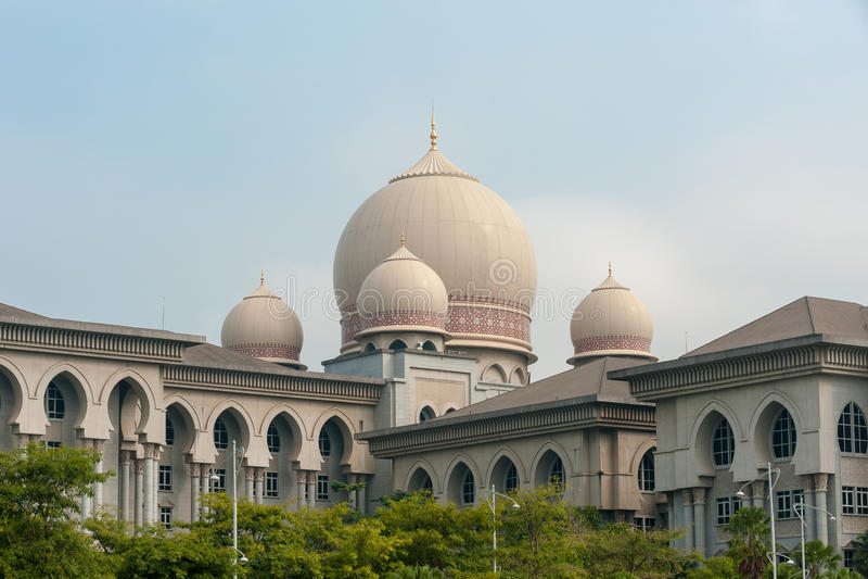 El palacio de la justicia Putrajaya imagen de archivo