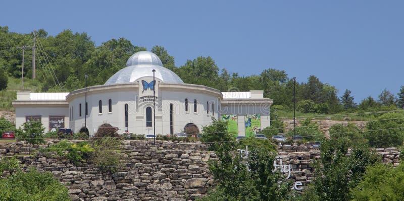 El palacio de la mariposa, Branson Missouri foto de archivo