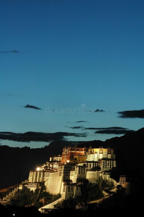 El palacio de Potala foto de archivo libre de regalías