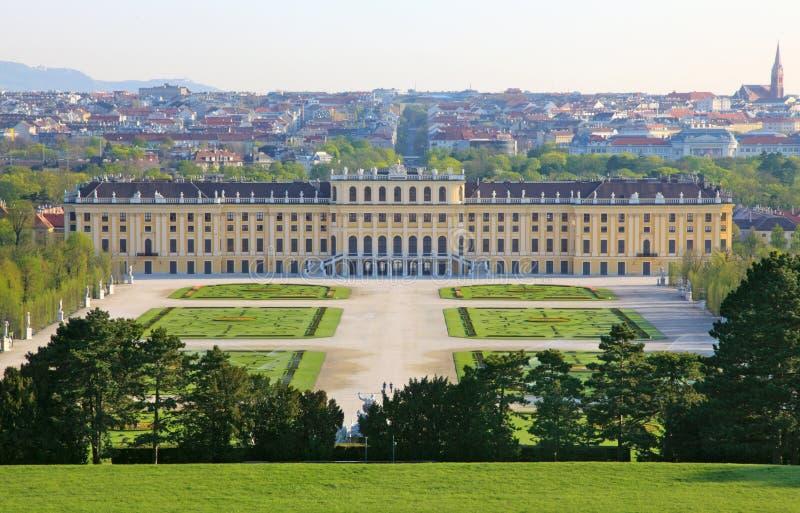El palacio de Schonbrunn fotos de archivo libres de regalías