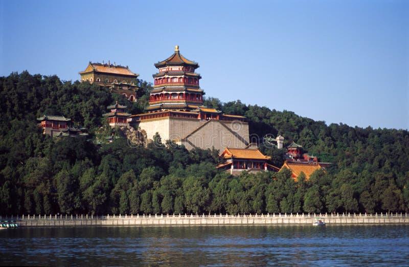 El palacio de verano imagen de archivo