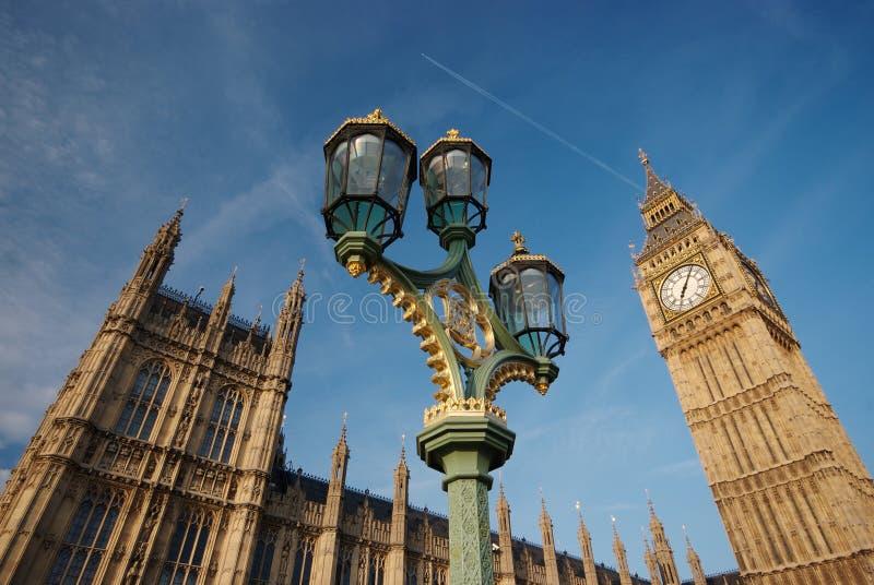 El palacio de Westminster foto de archivo libre de regalías