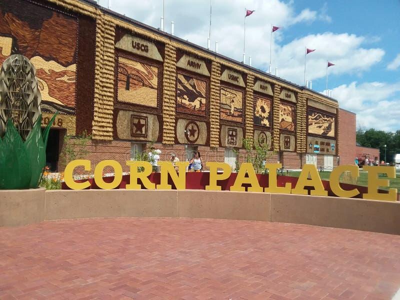 El palacio del maíz imágenes de archivo libres de regalías