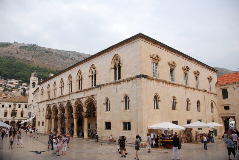 El palacio del rector imagen de archivo