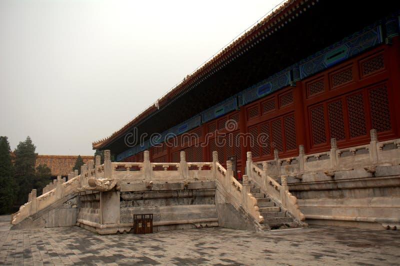 El palacio del trabajador, Pekín, China fotografía de archivo
