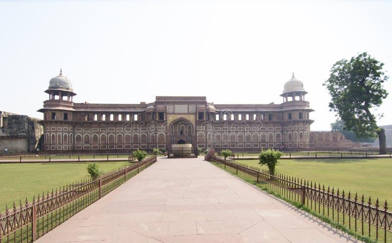 El palacio hermoso de rey Akbar de Mughal en Agra imagen de archivo libre de regalías