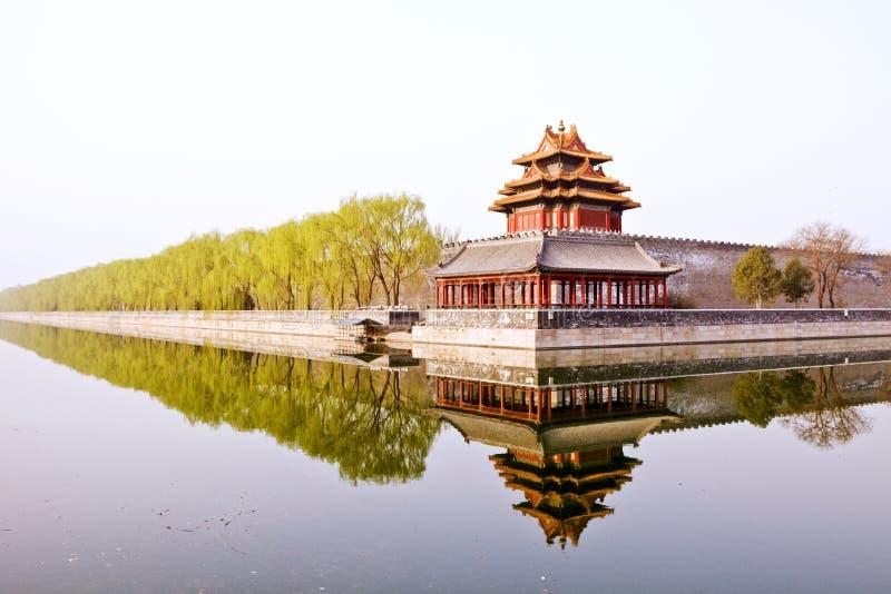 El palacio imperial fotografía de archivo