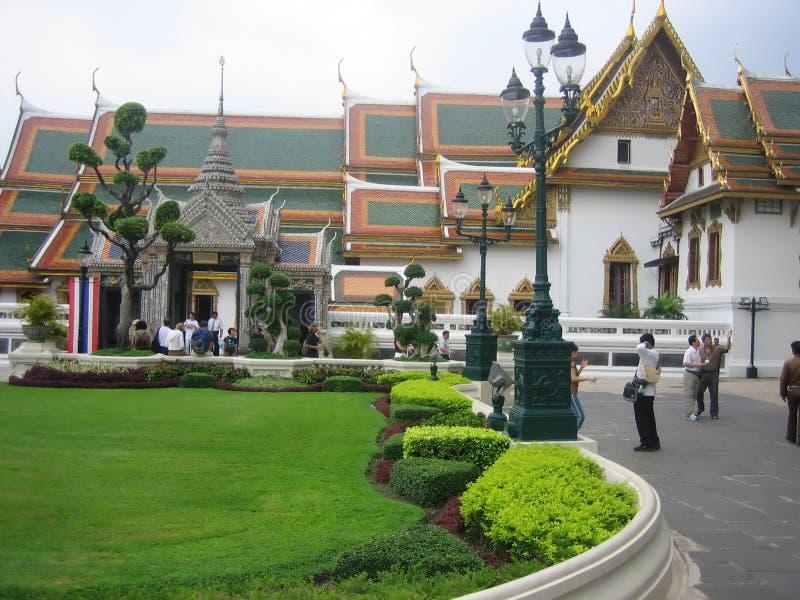 El palacio magnífico Bangkok fotos de archivo