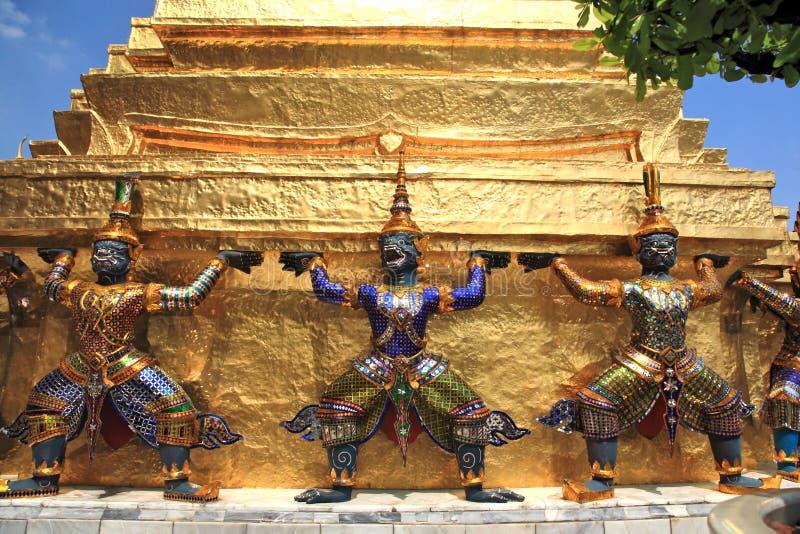 El palacio magnífico, Bangkok fotografía de archivo libre de regalías