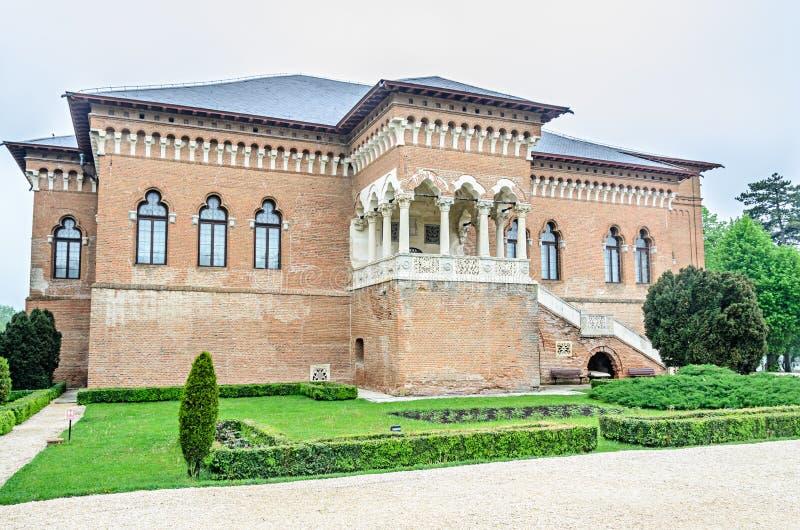 El palacio Mogosoaia cerca de Bucarest, Rumania, detalle exterior Estructura de Constantin Brancoveanu imagenes de archivo